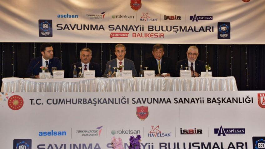 Defense Industry Balıkesir Meetings