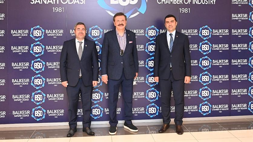 TOBB President M. Rifat Hisarcıklıoğlu Visited Balıkesir