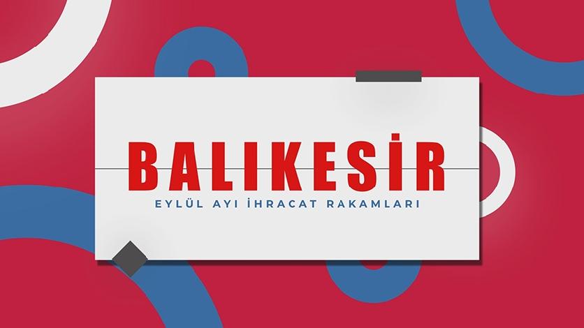 Balikesir September Export Data