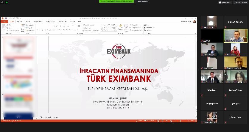 Information Seminar on Türk Eximbank Credit and Insurance Application Processes