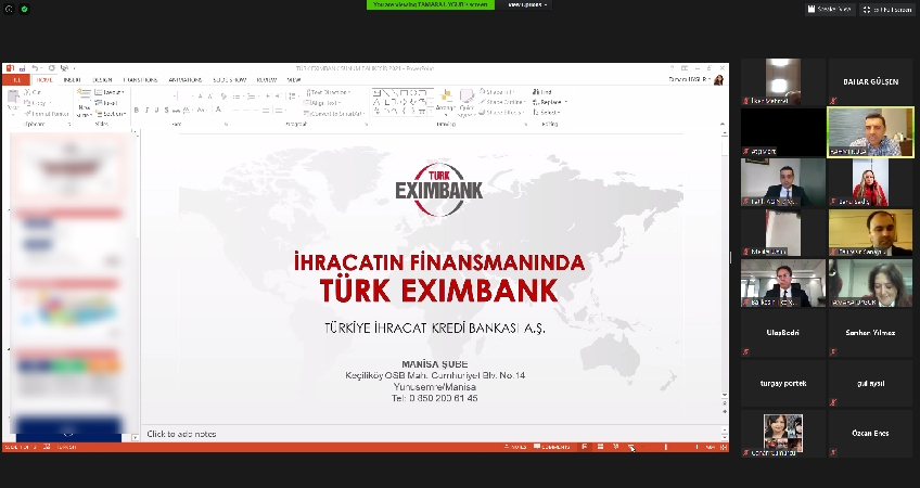 Information Seminar on Türk Eximbank Credit and Insurance Application Processes
