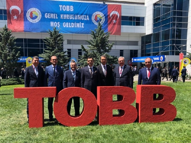 Turkey Union of Chambers and Commodity Exchanges (TOBB) 74 General Assembly