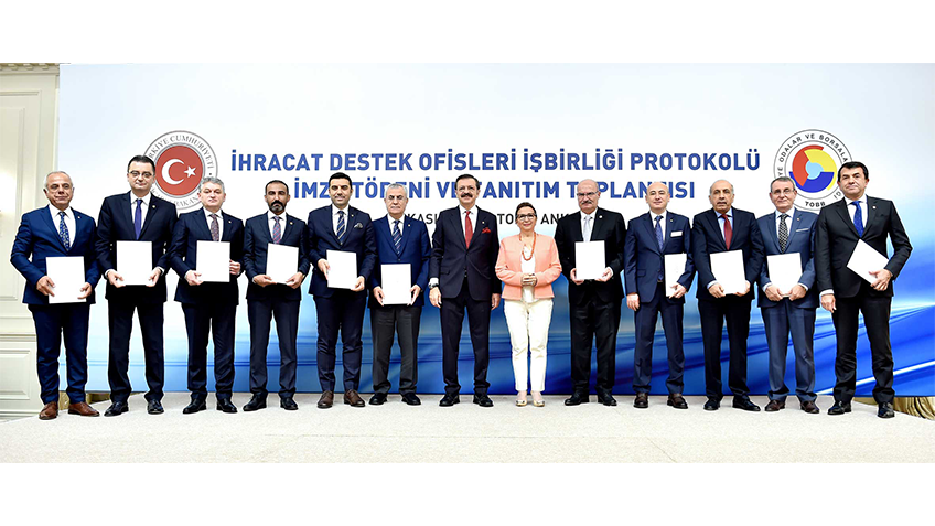 Export support offices Cooperation Protocol signature ceremony and promotion meeting