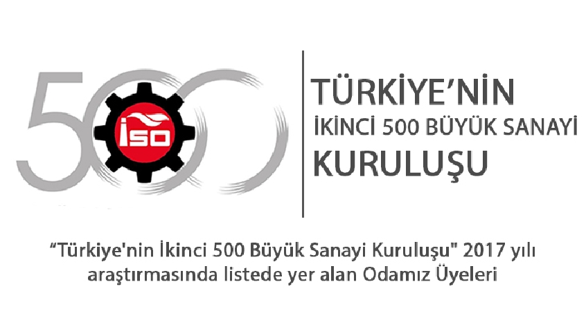 Second 500 Largest Industrial Enterprises of Turkey