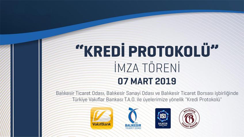 """Turkish Vakıflar Bank """"Credit Protocol"""" Signing Ceremony"""